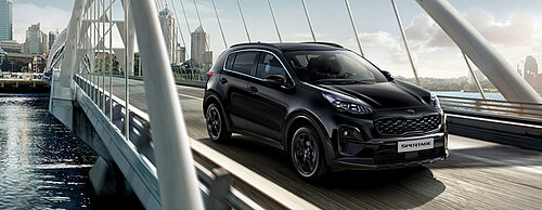 NEW SPORTAGE BLACK EDITION